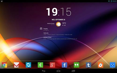 Виджет Chronus для Android