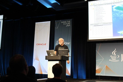 James Gosling at the Community Keynote