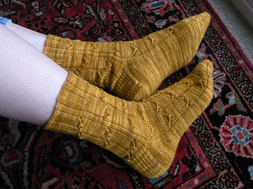 Legendary Knits v1: Icarus Socks