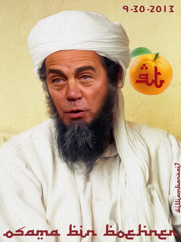 OSAMA BIN BOEHNER (THE ORANGE FATWA) by WilliamBanzai7/Colonel Flick