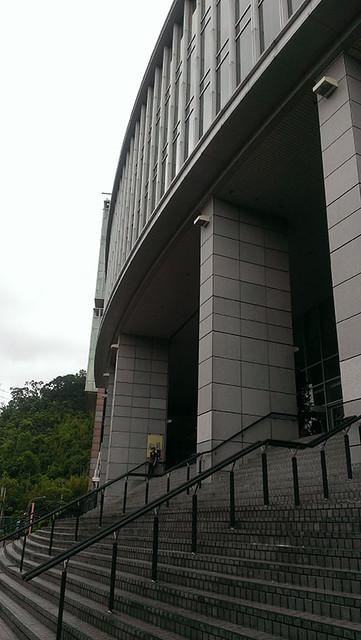 中央研究院人文館大門