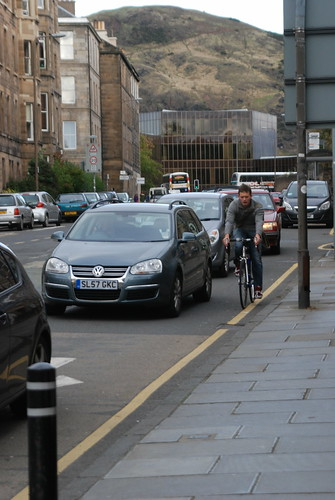 Cycle friendly Edinburgh?