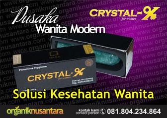 Crystal X : Solusi Kesehatan Wanita Modern