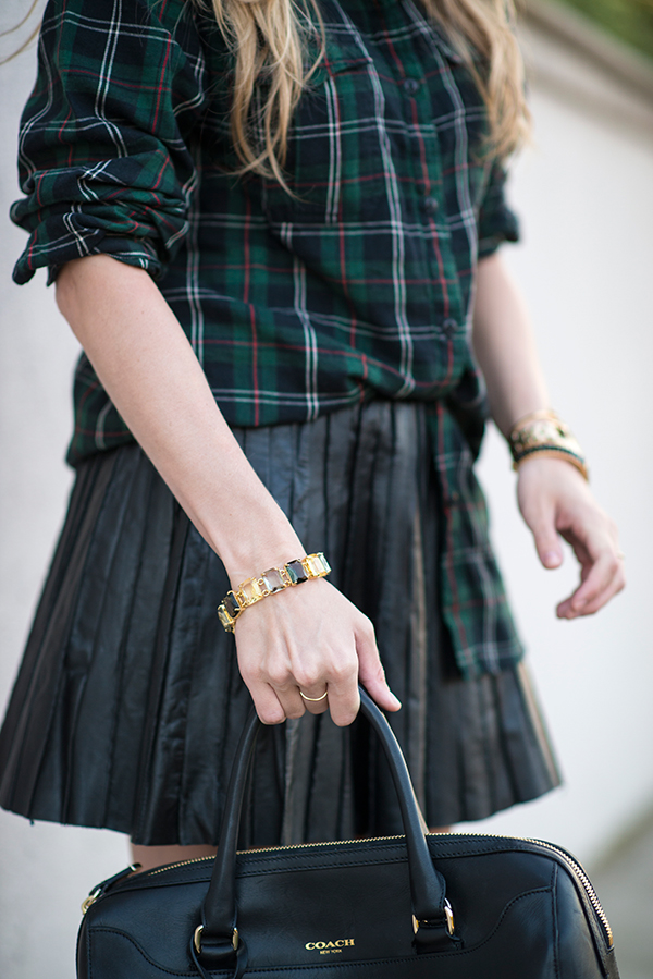eatsleepwear, plaid, coach-bag