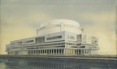 Vesnins' Palace of the Soviets 1932