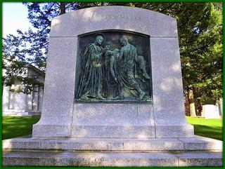 Ernest W. Haass Memorial: Woodlawn Cemetery--Detroit MI