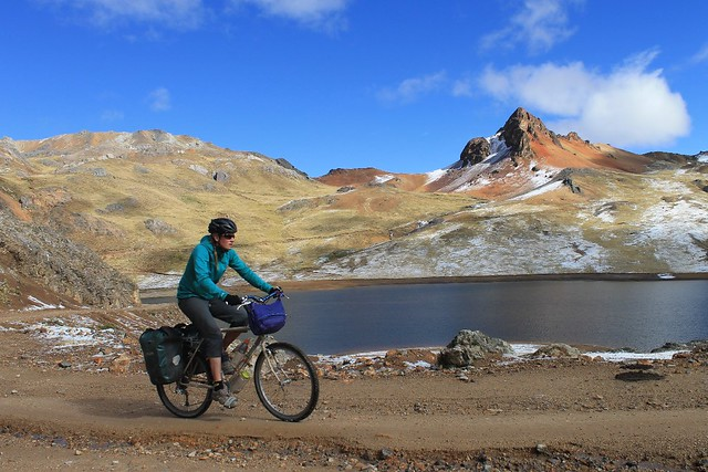 Climbing to Punta Chanca
