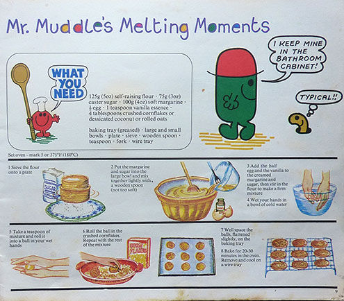Mr Muddle's Melting Moments