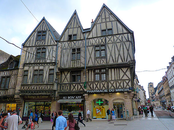 vieilles maisons de Dijon