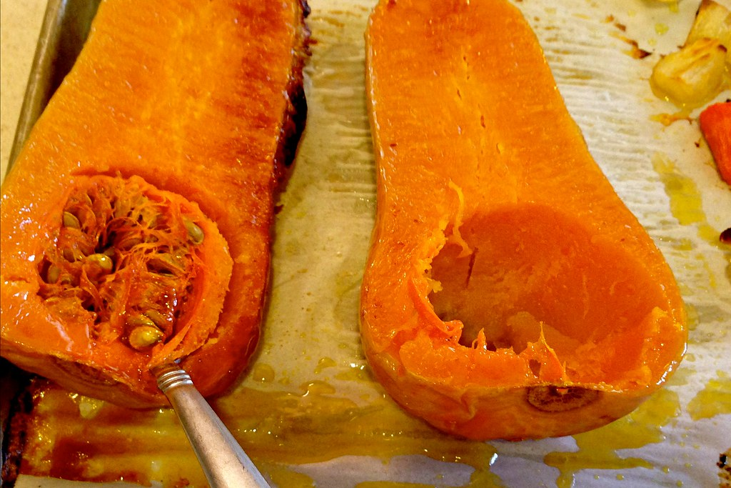 Butternut Squash and Carrot Soup - Scoop 4x6