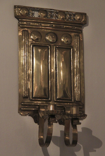 Candle holder, Arthur Heygate Mackmurdo, about 1880