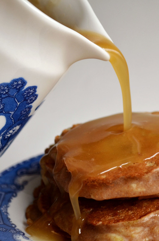 Whole Wheat Apple Cinnamon Pancakes with Maple Syrup ...