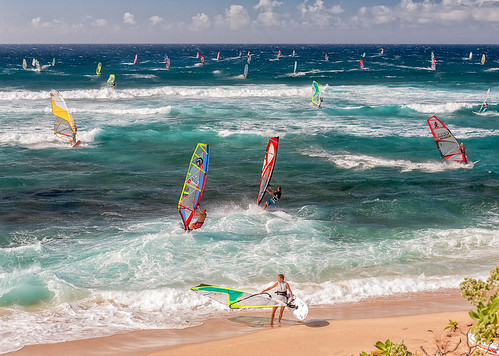ocean beach hawaii maui windsurfing hookipa nikon2470mm nikond700