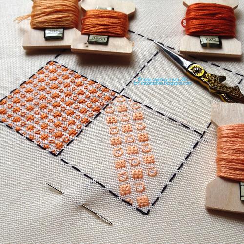 Orangework with &Stitches!
