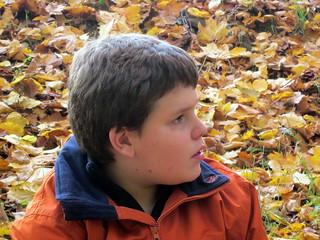 John in der Murellenschlucht im November 2011