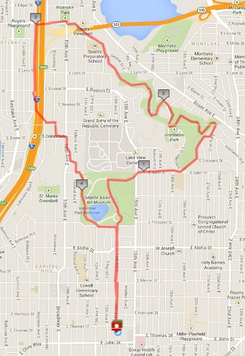 Today's awesome walk, 4.86 miles in 1:29 (380 ft gain) by christopher575