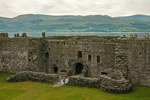 Beaumaris castle - interior