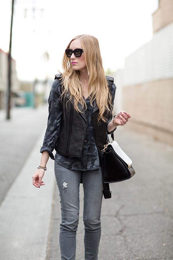 eatsleepwear, outfit, celine, rebecca-minkoff, grey, rebecca-minkoff, karen-walker