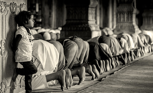lost in thoughts... lost in prayers