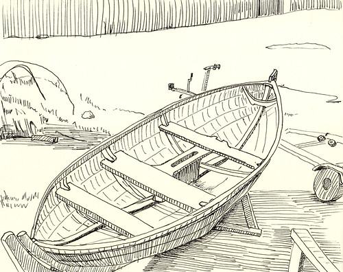 IMG Boat Drawing6 By Lazyjack3 On Flickr