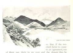 """Image taken from page 138 of '""""Mountain, Moor and Loch"""" illustrated by pen and pencil, on the route of the West Highland Railway'"""
