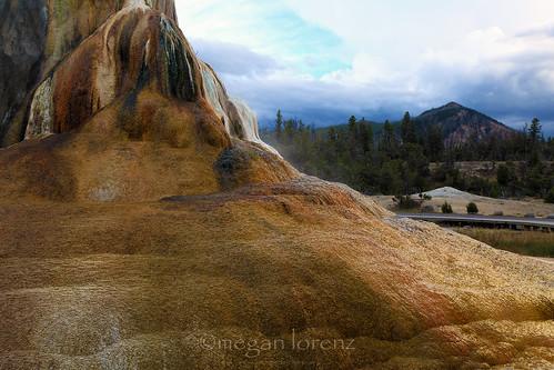 Orange Spring Mound by Megan Lorenz