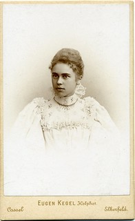 CDV Portrait of a young woman - Germany - c.1895