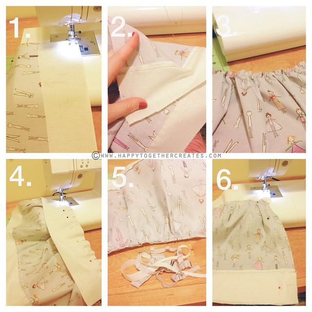 Peg Doll Skirt Tutorial