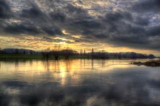 Weser December Sunset 2