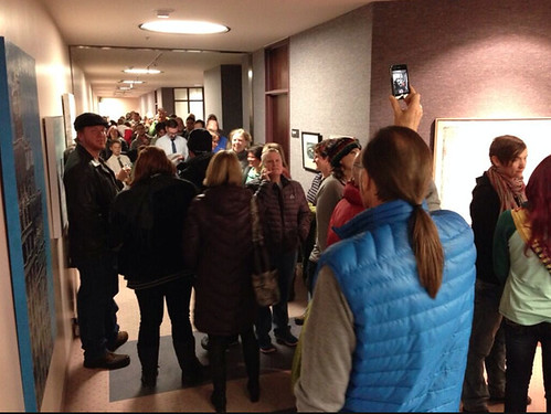 Line for Marriage Licenses in Salt Lake
