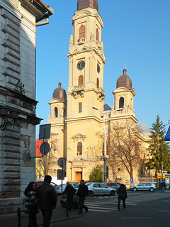 """Olosig"" Catholic church (1743 -1876), Oradea / Nagyvárad, Romania"