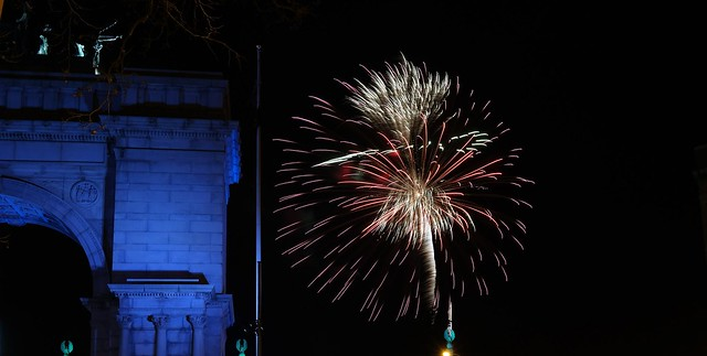 New Year's Eve Fireworks at Prospect Park Brooklyn