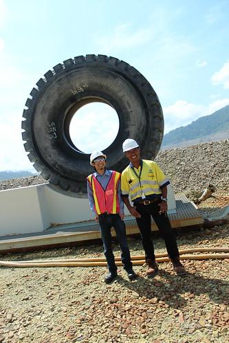 Di Mine Pit PT Newmont Nusa Tenggara