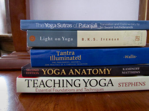 Yoga books for teacher training