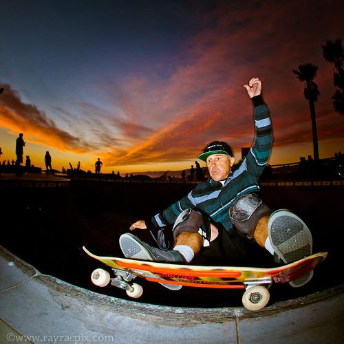 Venice Skatepark Eddie Hadvina 1-12-2014