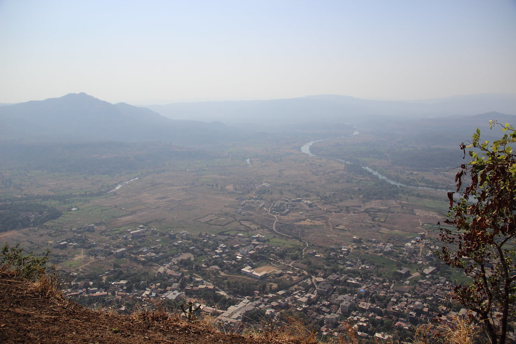 village Pali from the sarasgad fort