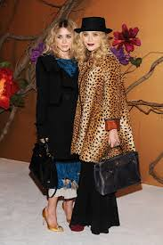 Mary Kate Olsen Leopard Print Coat Celebrity Style Women's Fashion