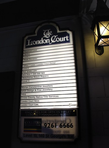 London Court Directory
