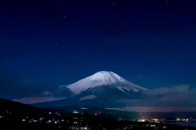 Mt.Fuji in the night