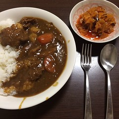 produce(0.0), gravy(1.0), meal(1.0), stew(1.0), curry(1.0), japanese curry(1.0), meat(1.0), food(1.0), dish(1.0), cuisine(1.0), gumbo(1.0),