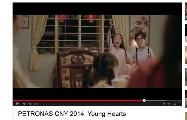 Petronas youtube official - young hearts 2014