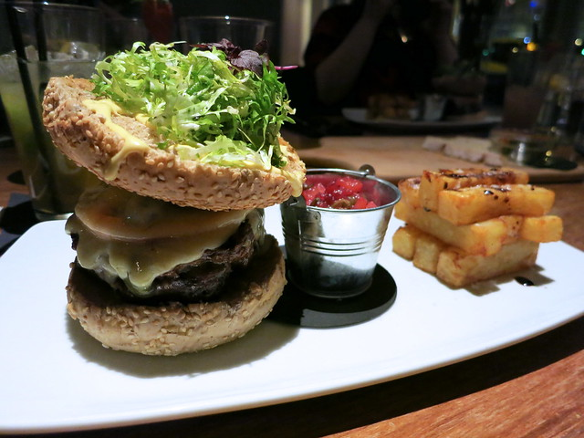 Bards Burger at Tempus