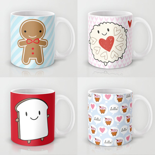 New mugs available at Society6