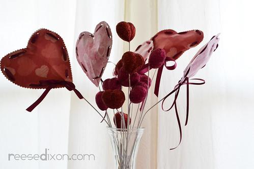 Valentine Heart Bouquet 4