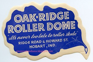 Oak-Ridge Roller Dome sticker