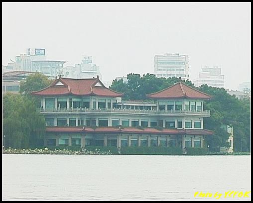 杭州 西湖 (其他景點) - 099 (從北山路的湖畔看西湖湖濱路的湖畔)