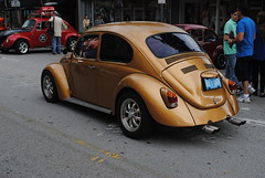 volkswagen new beetle(0.0), automobile(1.0), volkswagen beetle(1.0), wheel(1.0), vehicle(1.0), automotive design(1.0), subcompact car(1.0), city car(1.0), antique car(1.0), land vehicle(1.0), motor vehicle(1.0),