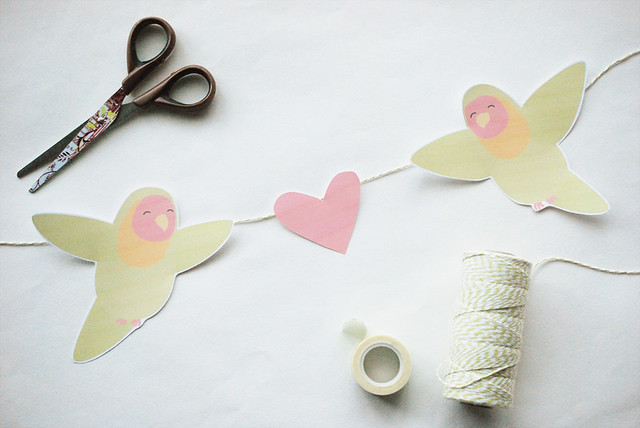 Love Bird Banner