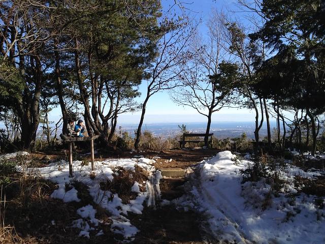 多度山 瀬音の森コース 海が見える展望台