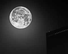 Moon over Tulsa